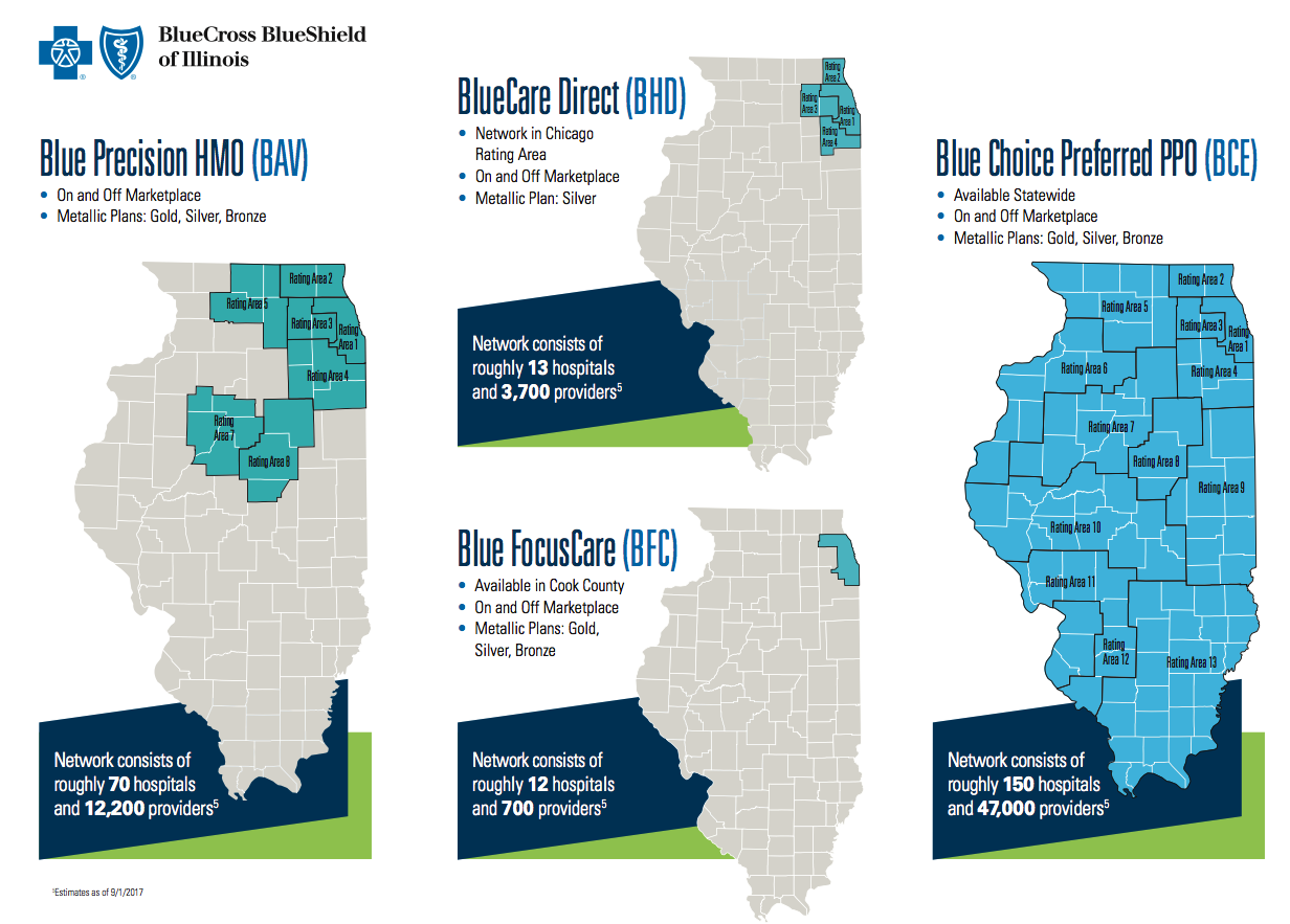 Blue Cross Blue Shield of Illinois Plan Guide 2018 – Independent